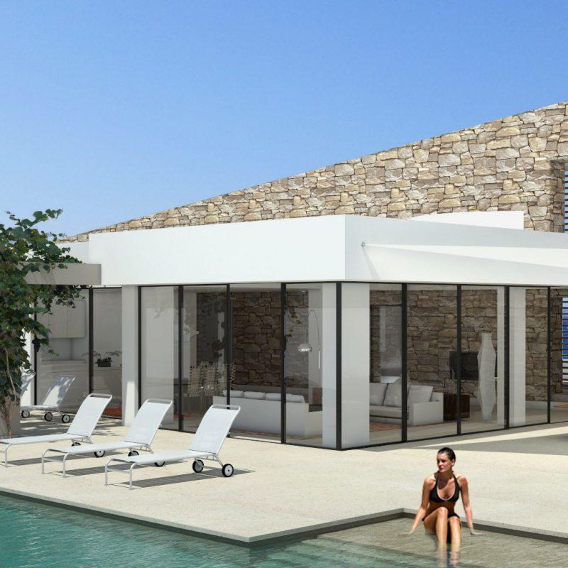 Stone Wall Villa